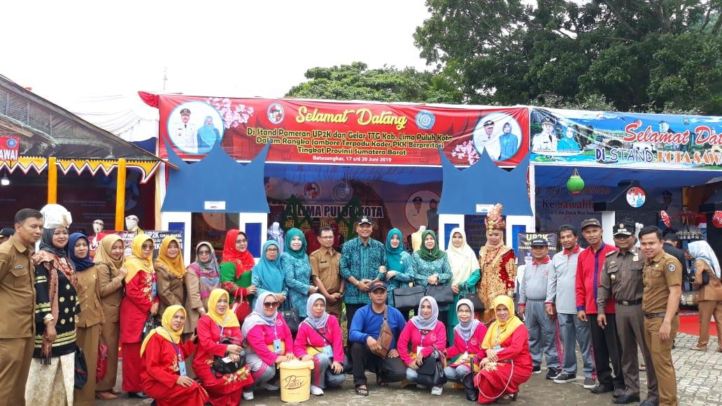 Jambore Kader PKK Berprestasi Tingkat Provinsi Sumatera Barat Tahun 2019